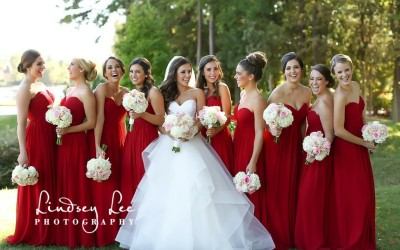 Classic Peninsula Club Outdoor Wedding