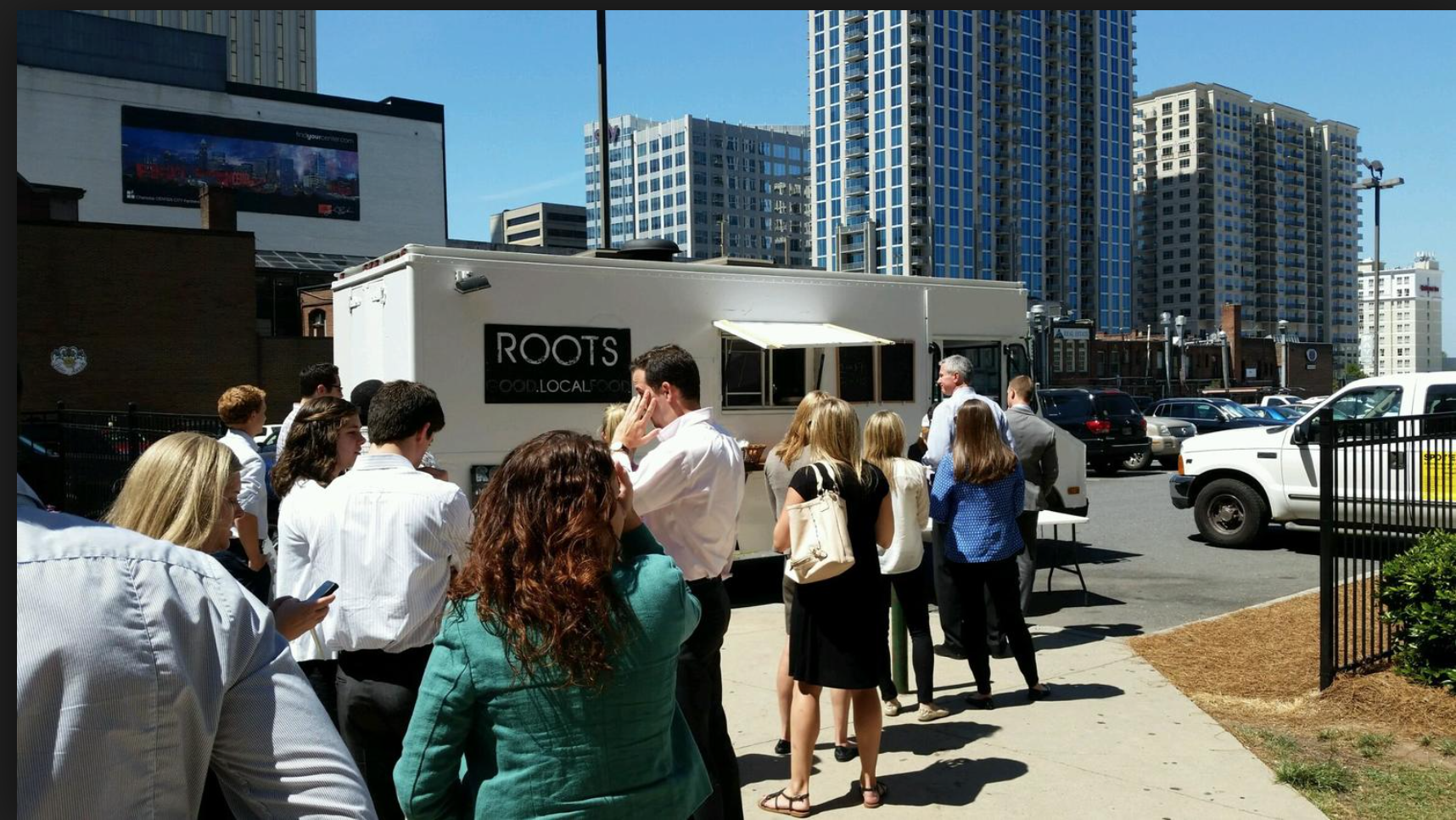 roots food truck charlotte