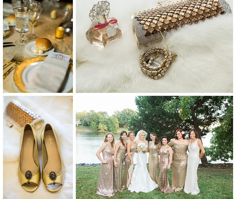 mixed metal wedding